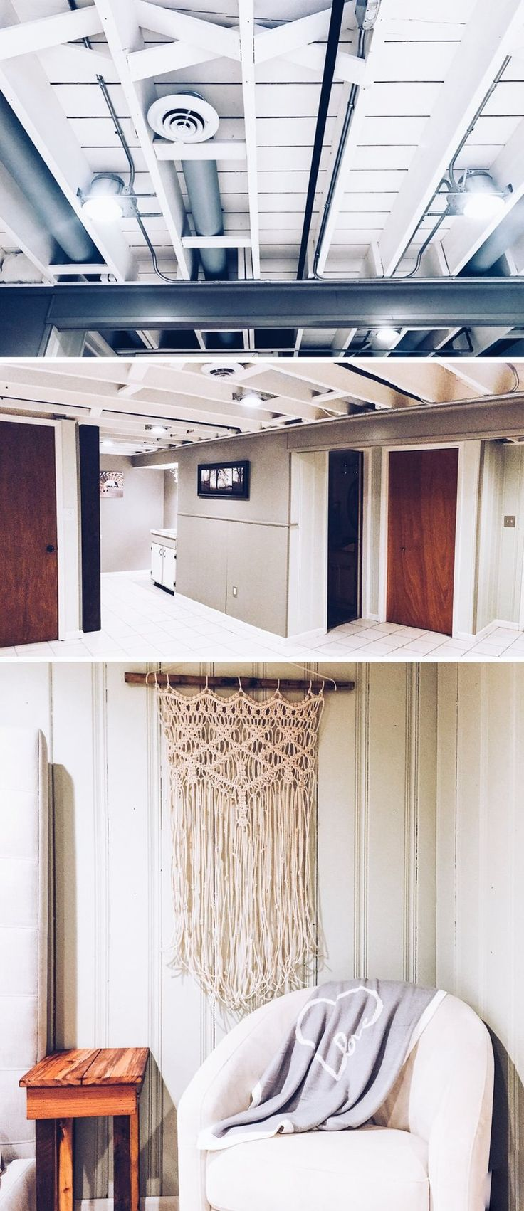 Best 25 basement ceilings ideas on pinterest drop for Ceiling renovation ideas
