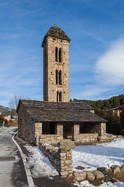 Iglesia de San Miguel de Engolasters - Andorra
