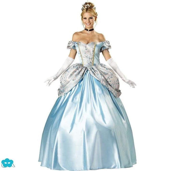 Disfraz de Cenicienta Luxury para mujer