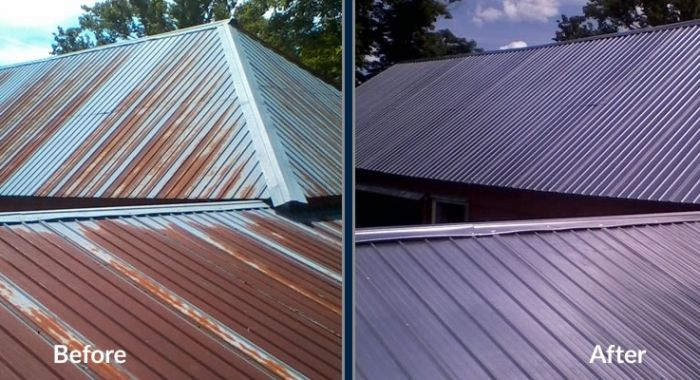 Metal Roof Painting Feature Ga Roof Paint Metal Roof Paint Metal Roof
