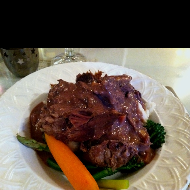 Short Rib & Porcini Mushroom Ragu Recipe — Dishmaps