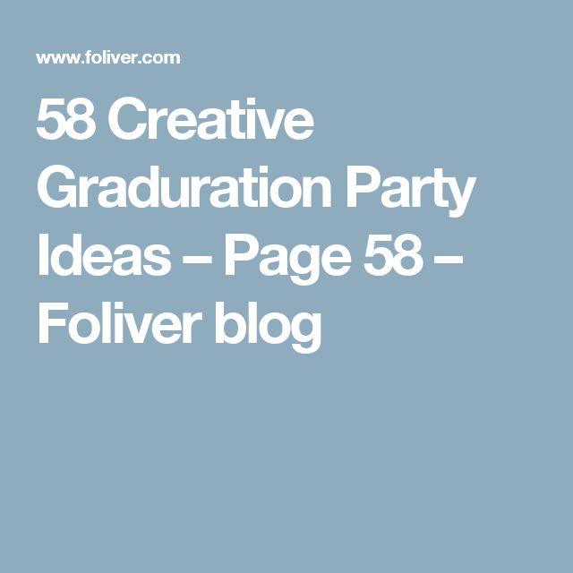 58 Creative Graduration Party Ideas – Page 58 – Foliver blog