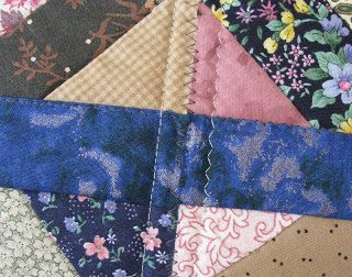 Joining string blocks quilt-as-you-go | Quilting Twin