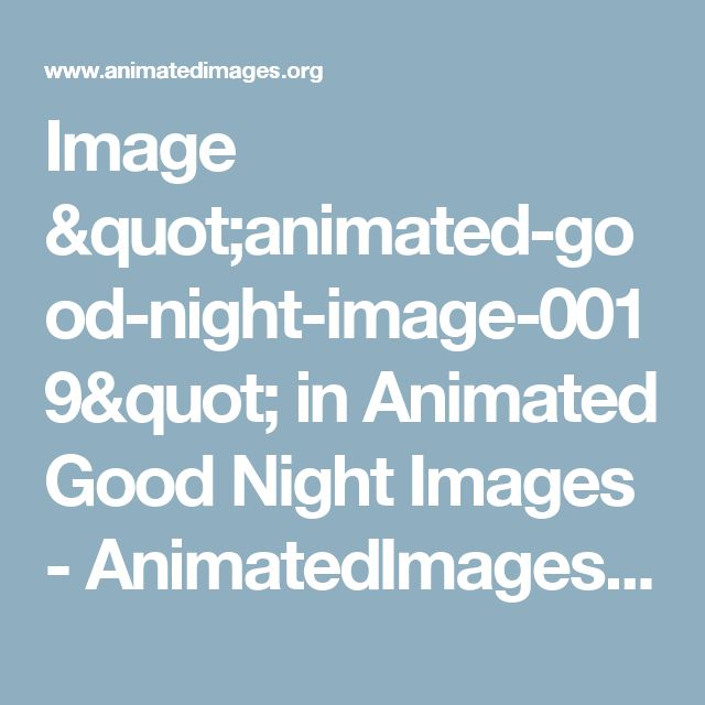 "Image ""animated-good-night-image-0019"" in Animated Good Night Images - AnimatedImages.org"