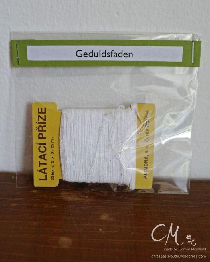 Caros Bastelbude: Ehe-Notfall-Koffer (Cool Diy Geschenke)