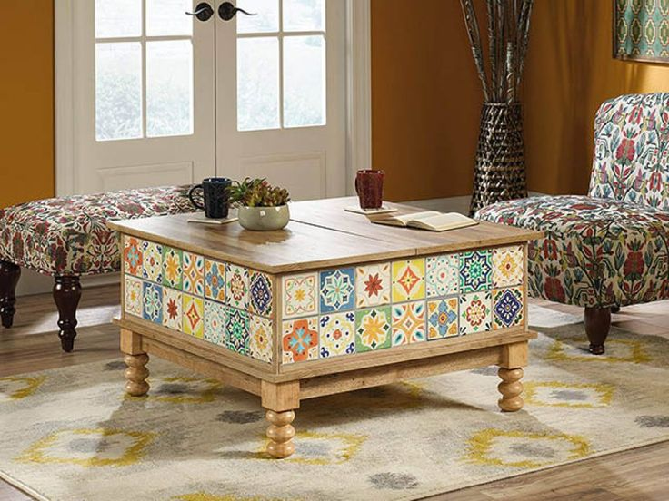 white lift top coffee table canada