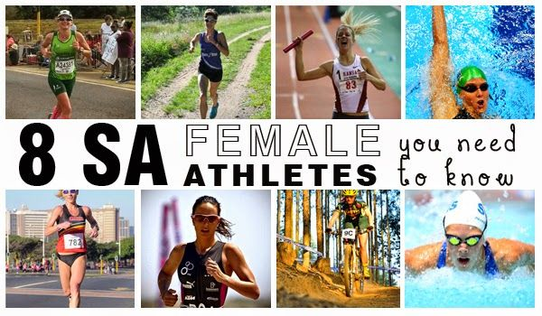 8 SA Female Athletes You Should Know ~ Forget the names you're accustomed to hearing in SA sport, these quieter athletes are the women we think you should watch…  #athletes #southafrica #nutreats