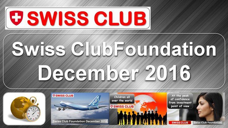 Swiss Club Foundation, příprava kapitálu do nadace