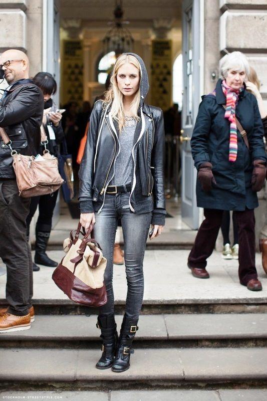 2015 Rock Sokak Modası http://www.kadincaweb.net/2015-rock-sokak-modasi #normcore #fashion #streetfashion #sokakstilleri #pfw #sokakmodası #trend #ss15 #streetstyle #jean #mfw #pfw #coolhunter #shopping #lfw #paris #rock #rockstreetfashion