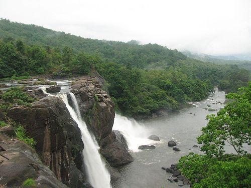 Athirapally Waterfalls in Trichūr, Kerala