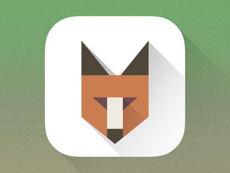 Fox Icon by Christoph Gromer