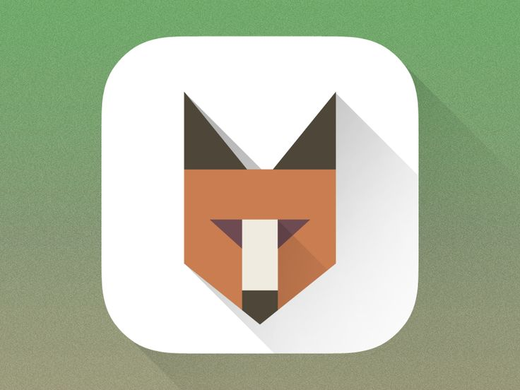 Fox Icon by Christoph Gromer