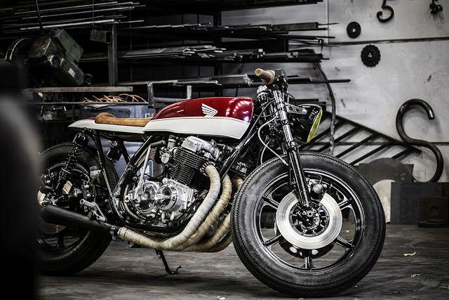Wrench Kings Honda CB750 Cafe Racer - via returnofthecaferacers.com