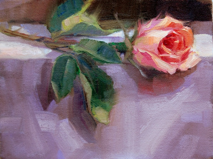 another beautiful rose painting