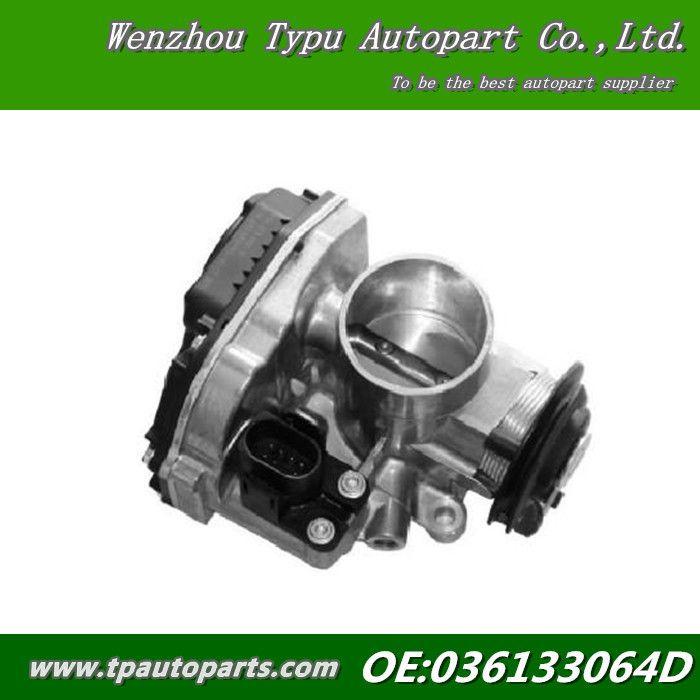 VW Polo 6N2 [1999-2001] Hatchback 1.4 16V Throttle Body New 036133064D  LUPO 6X1, 6E1 036 133 064 D  408-237-130-003Z $69.99