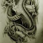 Oriental Dragon Tattoo Style (29)