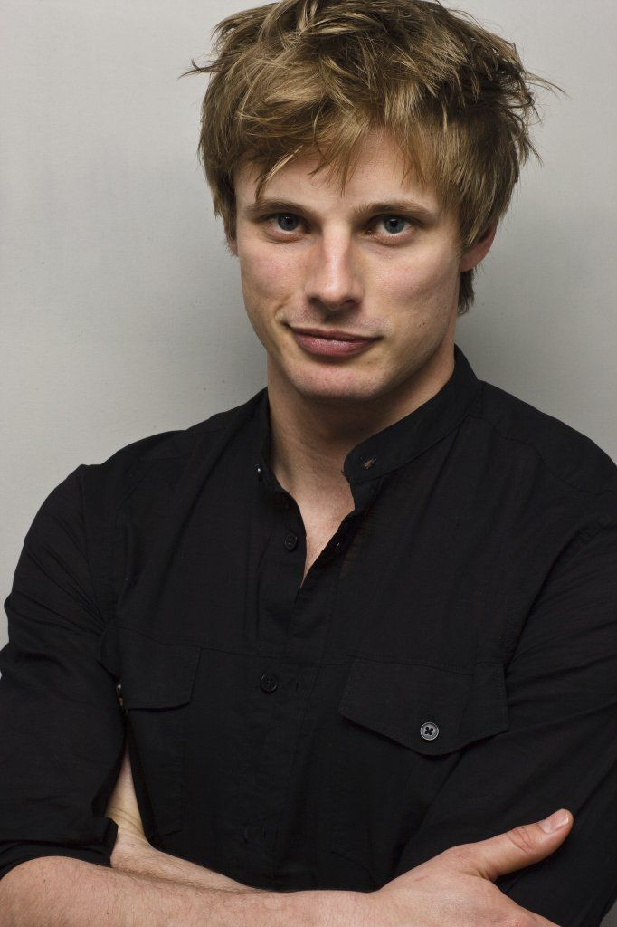 Bradley James. Loved him as Arthur in 'Merlin'