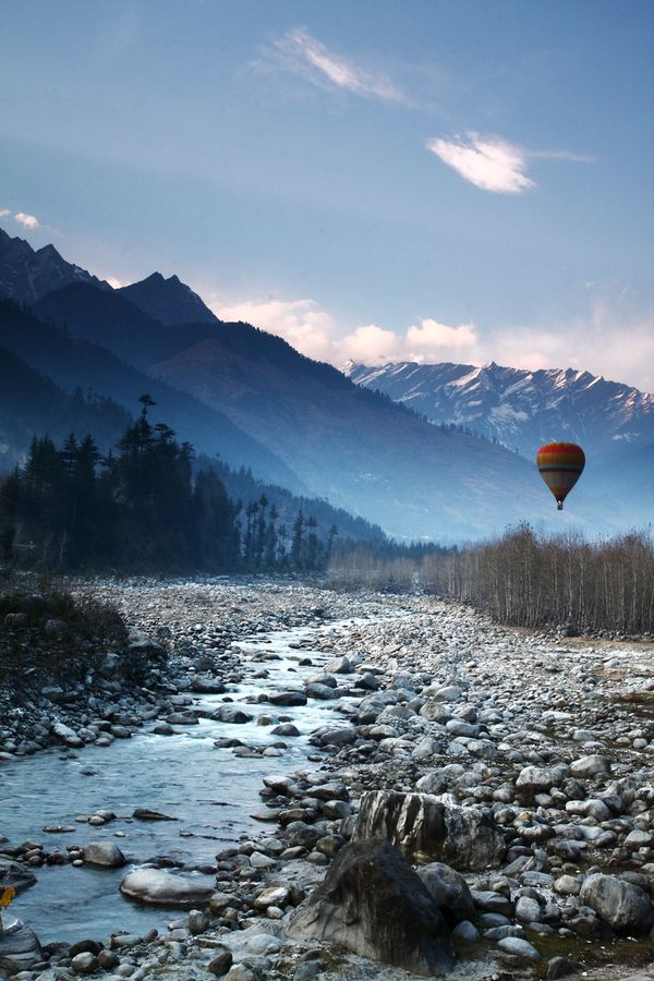 Manali, India. A really pretty little spot and not nearly as busy as Rishikesh.