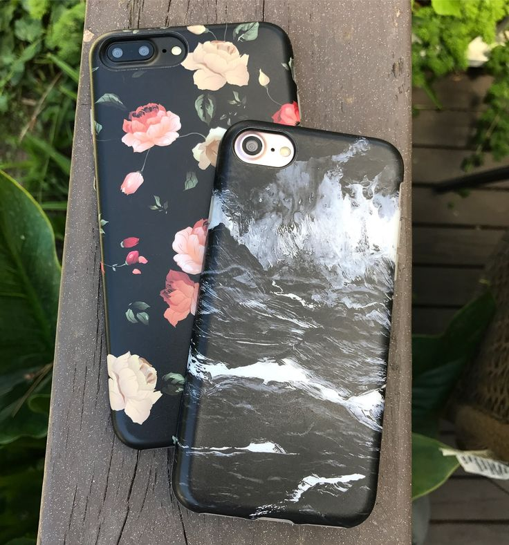 Dark Rose + Black Marble And Friday's just around the corner. Shop Cases for iPhone 7 & iPhone 7 Plus from Elemental Cases