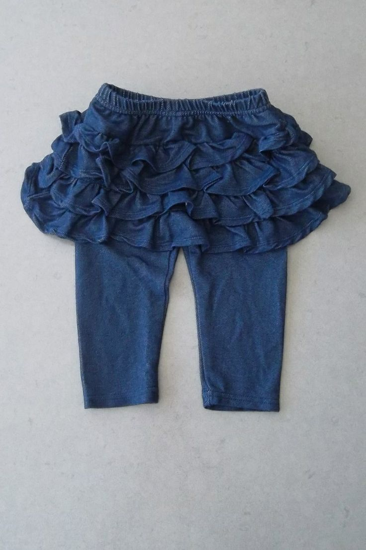 """Eco Outfitters Online - """"Denim Wash"""" Soft Cotton Jeggings with Attached Skirt (one piece) 12-18M *NEW*, $10.00 (http://www.ecooutfittersonline.ca/denim-wash-soft-cotton-jeggings-with-attached-skirt-one-piece-12-18m-new/)"""