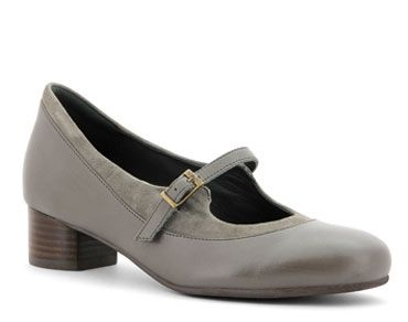 Fiona Women's Shoe - Mary Jane the heel height is 35mm.