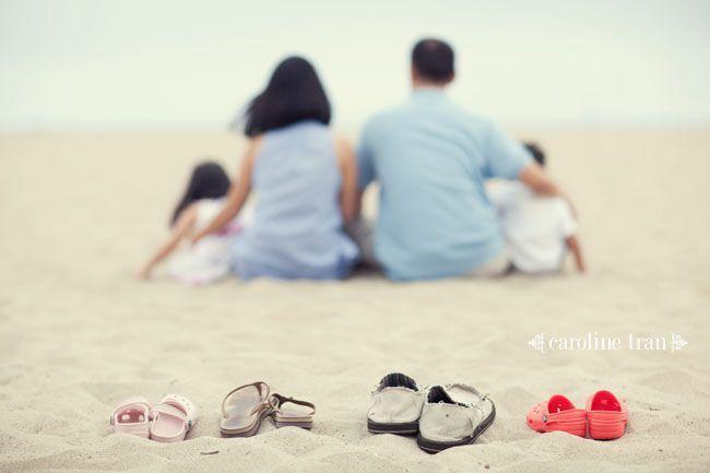 Ideas y fotos de la familia en la playa Capturing-Joy.com