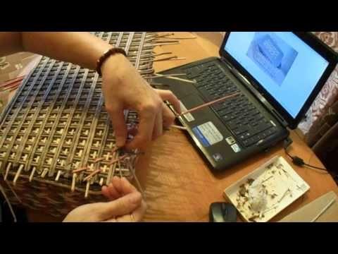 мк ажурной окидной крышки для коробки - YouTube