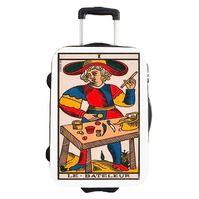 2DIFFER sticker for renovate your suitcases, model TAROT