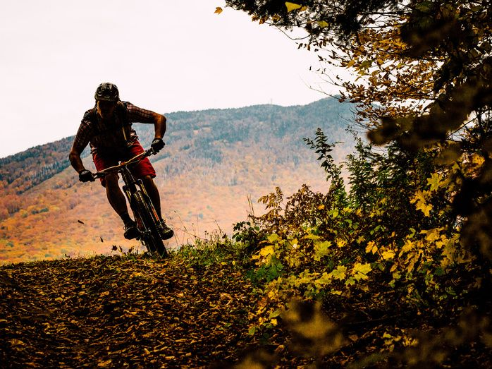 The Kingdom Trails in East Burke, Vermont. Photo: Anthony Smith via @Bike Magazine