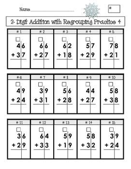 double digit addition and subtraction with regrouping 2 grade 2 addition subtraction. Black Bedroom Furniture Sets. Home Design Ideas