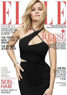Elle USA - November 2013 with Reese Witherspoon