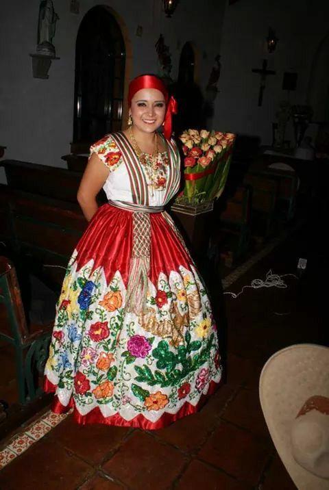 Vestido de china poblana2