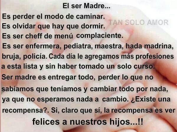 El ser Madre