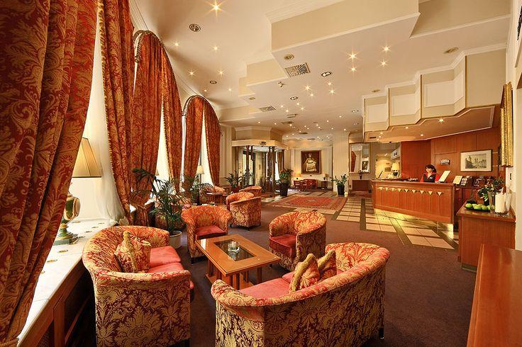 #Lobby at Grand Hotel Bohemia