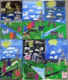 In the Art Room: Collage Paris