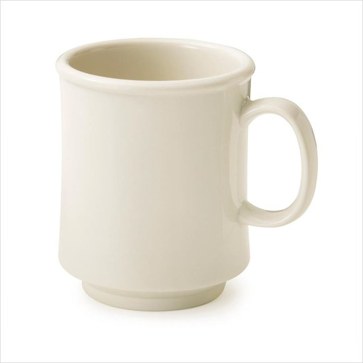 8 oz 3.25 x 3.75 Stacking Mug Ivory Tritan/Case of 24 Tags:  Coffee Cups; Cups and Mugs; Plastic Coffee Cups;Plastic Ivory Coffee Cups;Plastic Round Coffee Cups; https://www.ktsupply.com/products/32807345635/8-oz-325-x-375-Stacking-Mug-Ivory-TritanCase-of-24.html
