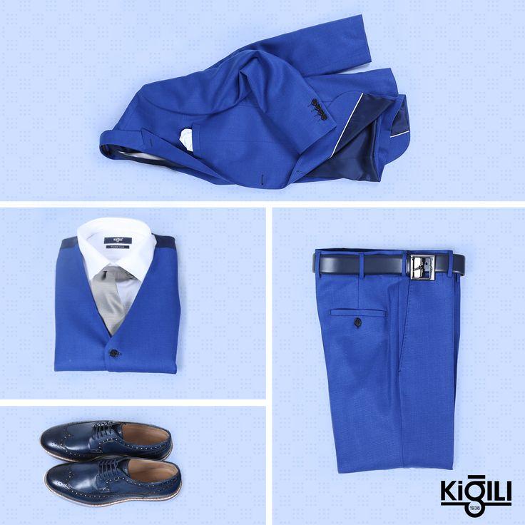 Yeni haftaya iş hayatının ve özel günlerin vazgeçilmezi mavi takım elbise ile stil sahibi bir başlangıç yapabilirsiniz.