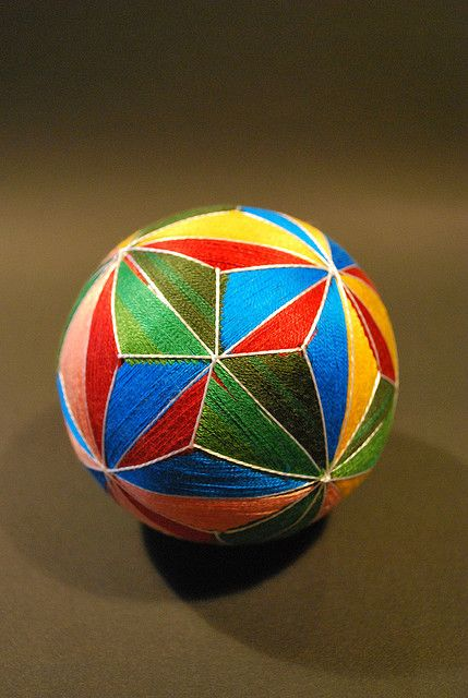 May2009_my 88yrs old grandma's works : TEMARI by NanaAkua, via Flickr: