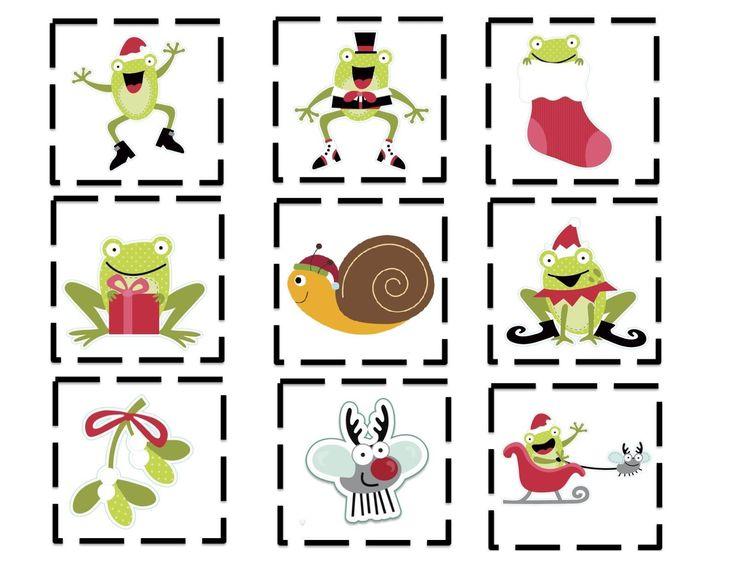Menta Más Chocolate - RECURSOS y ACTIVIDADES PARA EDUCACIÓN INFANTIL: Juegos Didacticos: Memory de Navidad