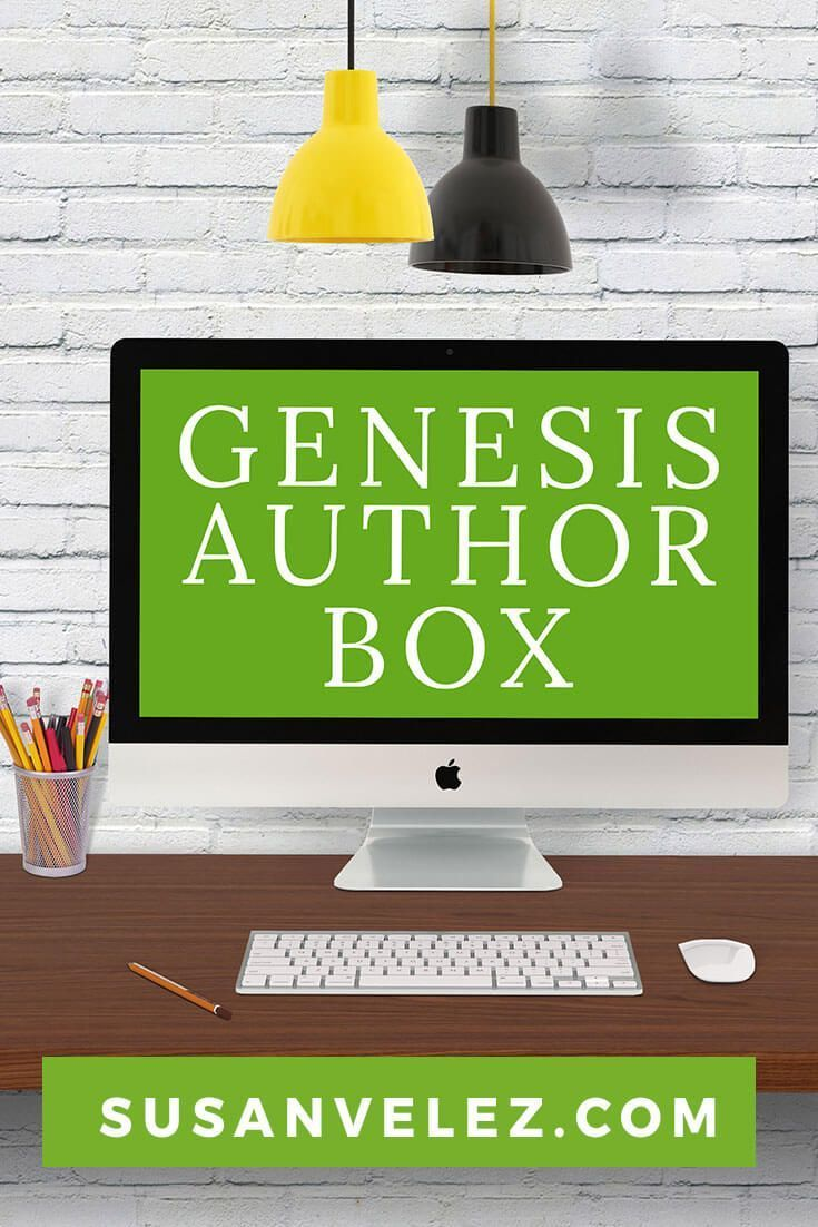 WordPress Tutorial: Learn how to set up an awesome Genesis author box from start to finish. Step-by-step tutorial on how to add it to your.. via @susanwptutorial