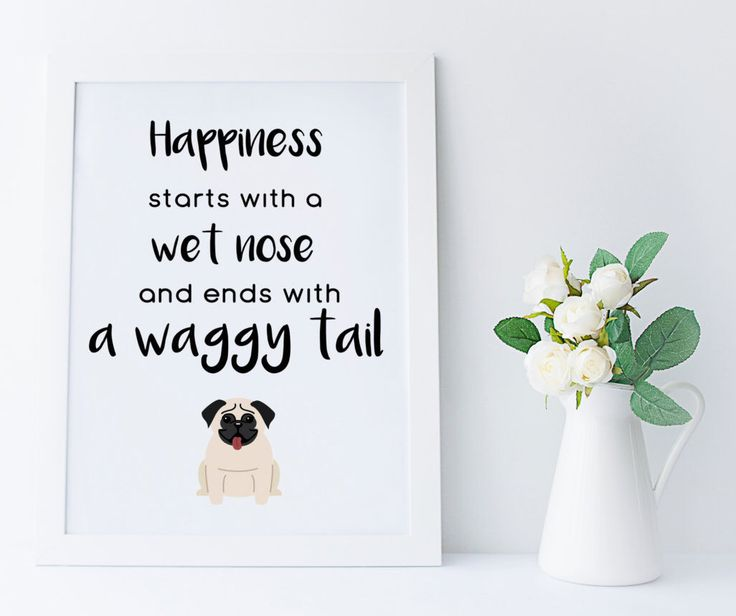 Pug art, pug print, printable home decor, pug owners gift, pug lovers print, pug life, dog wall art, pug gifts, INSTANT DOWNLOAD, pug dog