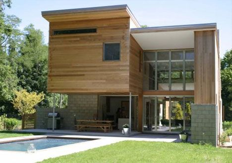 Sustainable green home design by Berg Design Architecture