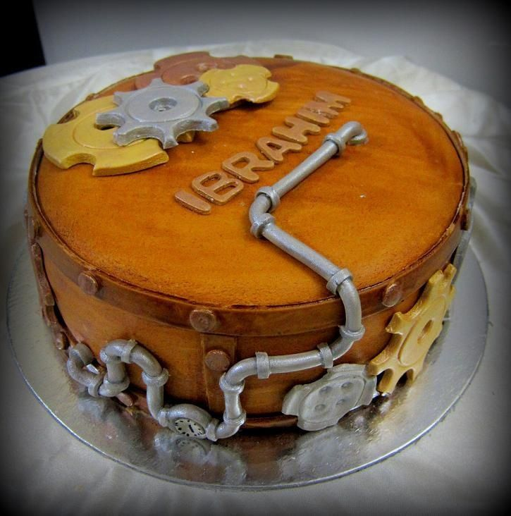 Mechanic Cake Ideas