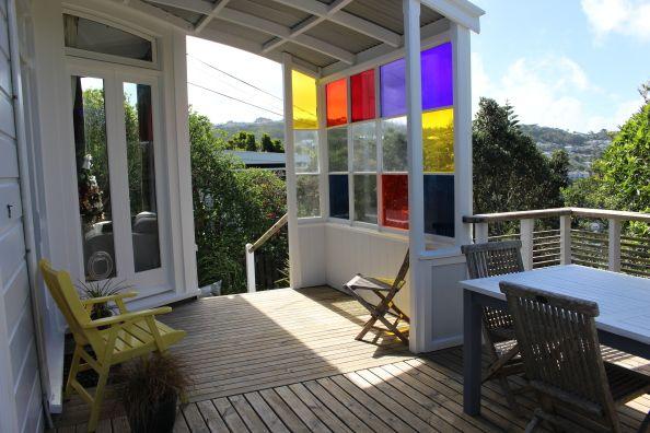 Nos hemos enamorado de la terraza de esta casa de #nuevazelanda #NZ