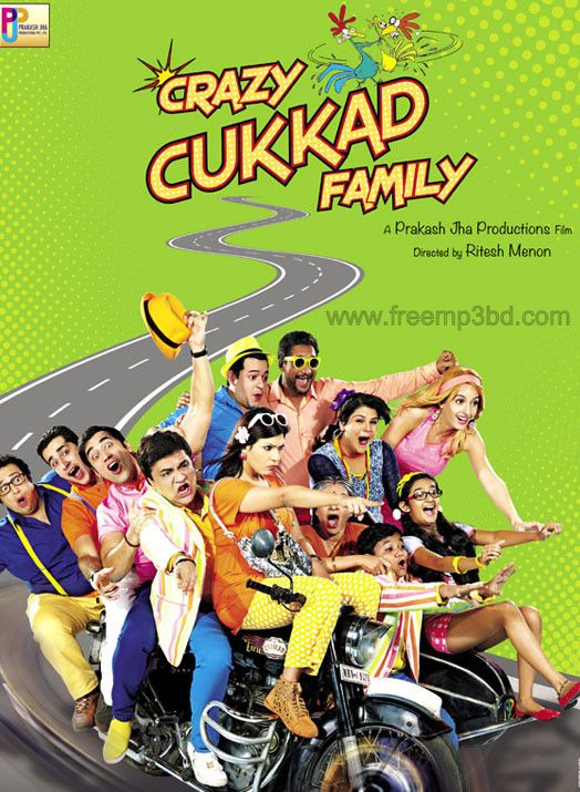 new hindi movie Crazy-Kukkad-Family-2015 mp3 songs free download image poster