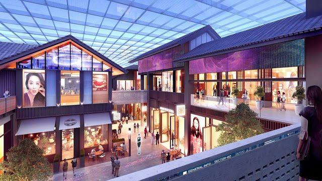 اقتصاد عالمى Global Economy Economie Mondiale إعمار تستعد لتطوير أكبر حي صيني بالشرق الأوسط ضم House Styles Outdoor Decor Mansions