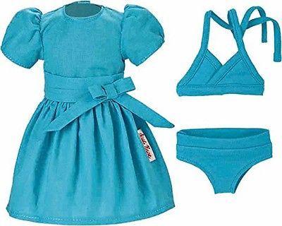 Kaethe-Kruse-Puppenkleidung-fuer-38-41-cm-Puppen-Sweet-Girl-Kleid-u-Bikini