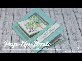 Pop-Up-Karte zur Hochzeit | Besondere Kartenformen | Tutorial | Stampin' Up!…
