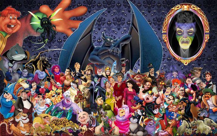 Disneys Atlantis The Villains: Disney Villains Wallpaper By