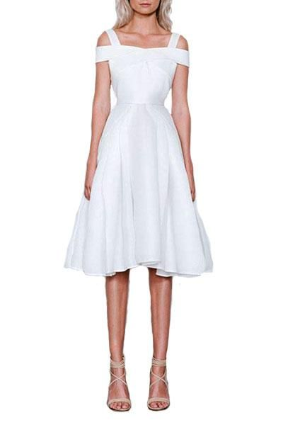 Elliatt - Verve A-Line White Dress